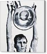 Billy Mcneill - Glasgow Celtic Fc Canvas Print