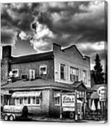 Billy's Restaurant And Walt's Diner - Old Forge New York Canvas Print