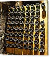 Biltmore Estate Wine Cellar -stored Wine Bottles Canvas Print
