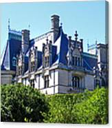 Biltmore House In Summer Canvas Print