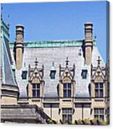 Biltmore House Roof Canvas Print