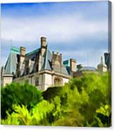 Biltmore In The Distance Canvas Print
