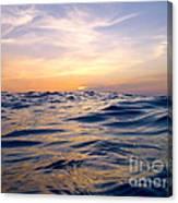Bimini Sunset Canvas Print
