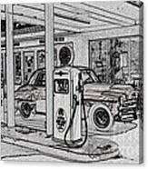 Bings Burger Station Cottonwood Arizona Canvas Print