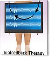 Biofeedback Therapy Canvas Print