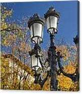 Bip Rambla Streetlight Canvas Print