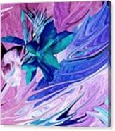Bird Of Paradise Reversed Canvas Print