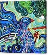 Bird Song 2 Canvas Print