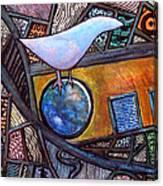 Birdball Canvas Print