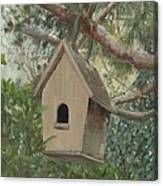 Birdhouse - Just Listed Canvas Print