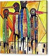 Birds 738 - Marucii Canvas Print