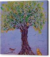 Bird's Bliss Canvas Print