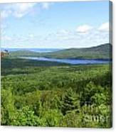 Bird's Eye View Of Eagle Lake Canvas Print