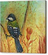 Birds Of A Feather Series3 In Autumn Canvas Print