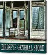 Birdseye General Store Canvas Print