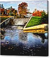 Birmingham Mi Waterfall Canvas Print