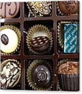 Birthday Chocolates Canvas Print