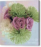 Birthday Flowers Three Canvas Print