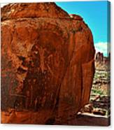Birthing Rock Canvas Print