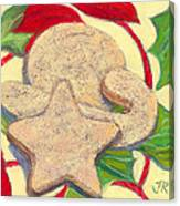 Biscochitos-nm State Cookie Canvas Print