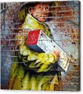 Biscuit Boy Canvas Print