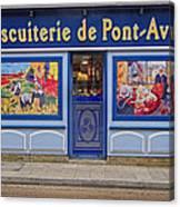 Biscuiterie In Pont Avon Canvas Print