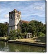 Bisham Church Canvas Print