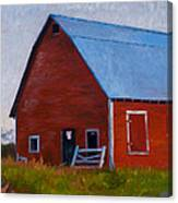 Bishop Barn Canvas Print