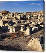 Bisti Badlands Pano Canvas Print