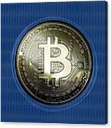 Bitcoin In Circulation Canvas Print