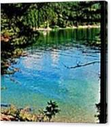 Bitterroot Lake Canvas Print