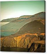 Bixby Bridge Digital Canvas Print