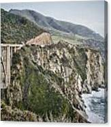 Bixby Bridge Vista Canvas Print