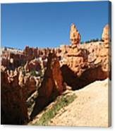 Bizarre Shapes - Bryce Canyon Canvas Print
