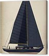 Black Alberg  Canvas Print