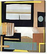 Black And Tan Canvas Print