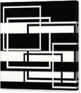 Black And White Art - 151 Canvas Print