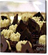 Black And White Chocolate Canvas Print