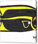 Black Bandit Canvas Print