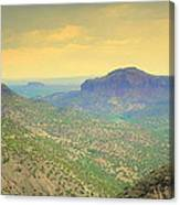 Black Butte From White Rock Canvas Print
