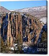 Black Canyon Butte Canvas Print