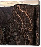 Black Canyon National Park In Colorado Canvas Print