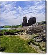 Black Castle Panorama Canvas Print