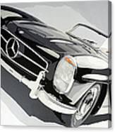Mercedes 300 Sl Canvas Print