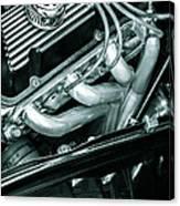 Black Cobra - Ford Cobra Engines Canvas Print