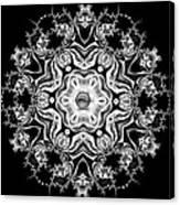 Black Diamond Princess Pendant Canvas Print