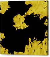 Black Gold - Abstract -art  Canvas Print