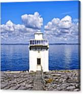 Black Head Lighthouse Canvas Print