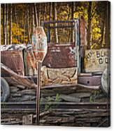 Black Hills Gold Truck Sign Canvas Print