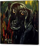 Black Lab IIi Canvas Print